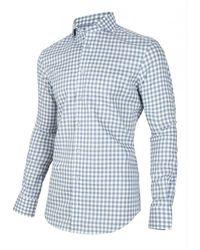 Cavallaro Shirt Stevano Azul