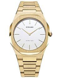 D1 Milano Watch D1-utbl03 - Geel