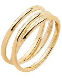 Maria Black Emilie Wrap Ring - Geel