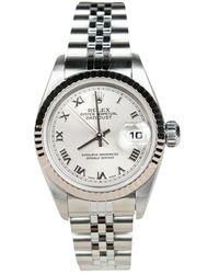 Rolex Tweedehands Lady-datejust Horloge - Grijs