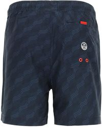 North Sails 36th americas cup presented shorts Azul