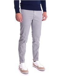 Re-hash Microfantasy Mucha Trousers With Turn-up - Grijs