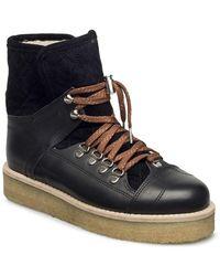 Ganni Look Quilt Boots - Zwart