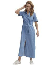 Denham Dress - Blau