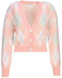 Alessandra Rich Knitwear Fab2628k3361 - Roze