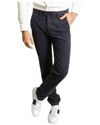 Hartford Tobby Trousers - Blu