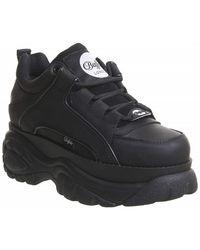 Buffalo Shoes Leather - Noir