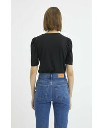 Rodebjer Dory T-Shirt Negro