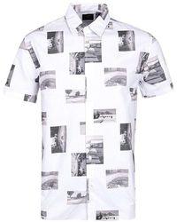 Edwin Archive Photo Print Short-sleeve Shirt - Wit