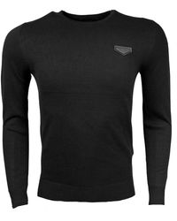 Antony Morato Sweater Ronde Nek - Zwart