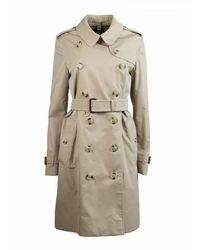 Burberry Trench Coat Kensington - Groen
