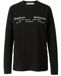 Proenza Schouler Shirt - Zwart
