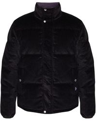 PS by Paul Smith Quilted Down Jacket - Zwart