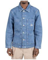 Stussy Jacket - Blauw