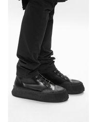 Jil Sander Platform shoes Negro