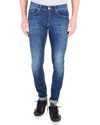 Dondup Jeans Skinny George - Blauw