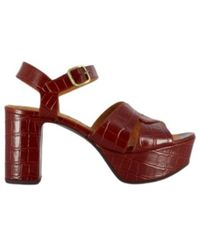 Chie Mihara Platform sandals F-Dibe37 - Braun
