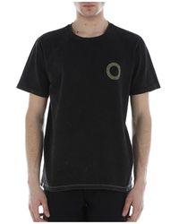 Paura T-shirt Con Stampa - Geel