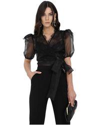 Elisabetta Franchi Shirt - Zwart