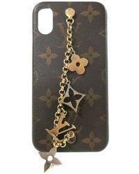 Louis Vuitton Tweedehands Iphone-hoesje - Bruin
