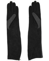 Lanvin Lange Handschoenen - Zwart