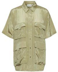 Gestuz Cleogz Shirt 10905360 - Neutro