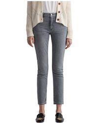 GANT Farla super stretch jeans - Gris