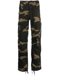 Carhartt WIP - Broek Met Camouflageprint - Lyst
