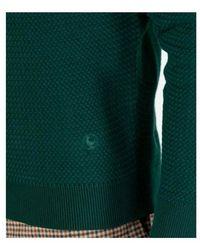 El Ganso Jersey Cuello Caja Verde