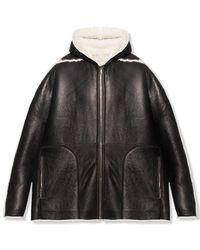 Rick Owens Coat - Noir