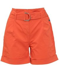 Calvin Klein Shorts With Belt - Rood