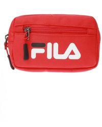 Fila Belt Bag With Logo - Rood