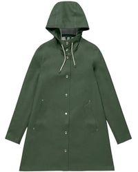 Stutterheim Mosebacke raincoat - Grün