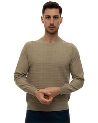 Canali Round-necked pullover - Neutre