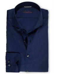 Stenströms Overhemd - Blau