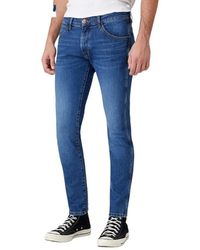 Wrangler Bryson 813 Jeans In Game On - Blauw