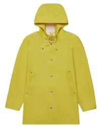 Stutterheim Stockholm Rain Coat - Geel
