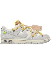 Nike Dunk Low Off-white - Wit