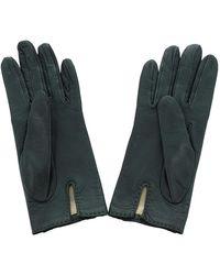 Hermès Kelly Gloves Piel de becerro Verde