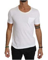 Dolce & Gabbana - Roundneck Casual Katoenen T-shirt - Lyst