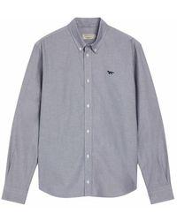 Maison Kitsuné Shirt - Grijs