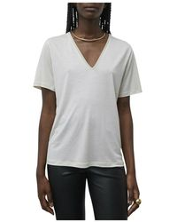 By Malene Birger Amika t-shirt q68491020z - Blanc