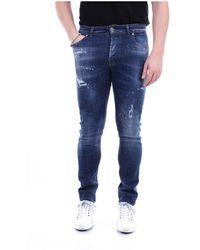 John Richmond Rmp20122je Skinny Jeans - Blauw