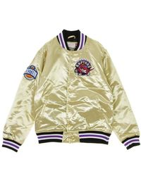 Mitchell & Ness Nba Bomber Jacket - Geel