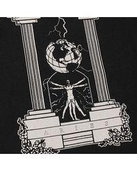 Aries Sweatshirt Negro