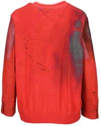 Undercover Knitwear Uc1a1903f - Rood