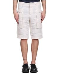Transit Linen Shorts - Naturel