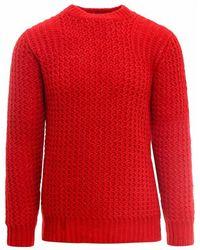 Roberto Collina Knitwear Rf47001 - Rouge