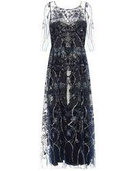 Marchesa Dress - Blu