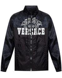 Versace Drawstring Jacket - Zwart
